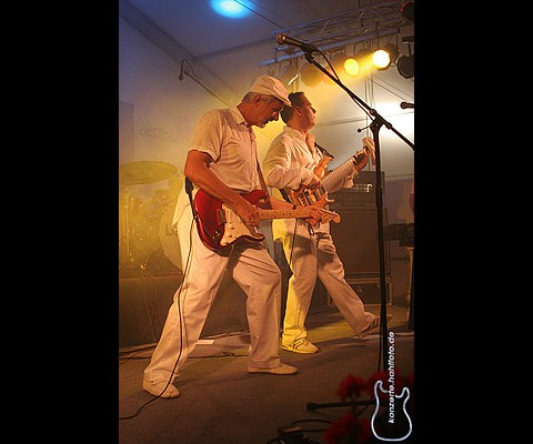 The Rubettes feat. Bill Hurd, 16.06.2007, Oberstaufen, Kurpark