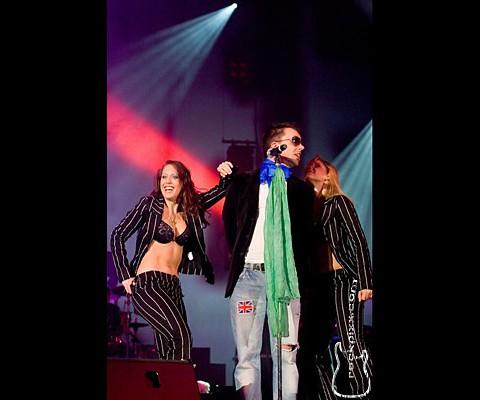 Robbie Williams Coverband, 10.11.2007, Braunschweig, Volkswagenhalle