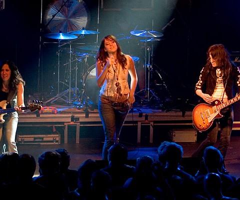 Lez Zeppelin, 20.11.2007, München, Backstage