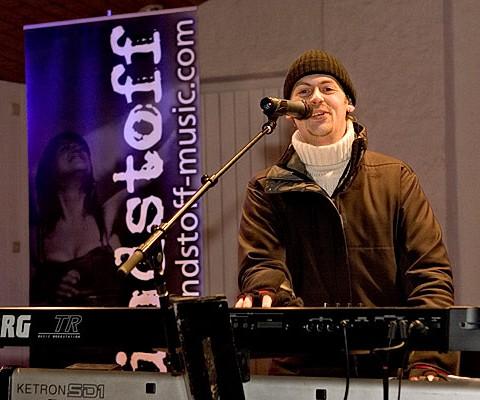 Zündstoff, 02.01.2008, Riezlern (A), Gemeindeplatz