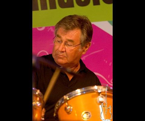 Pete York, 08.05.2008, München, Olympiapark