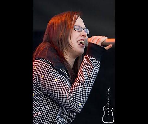 Stefanie Heinzmann, 24.06.2008, Kiel, NDR-Bühne