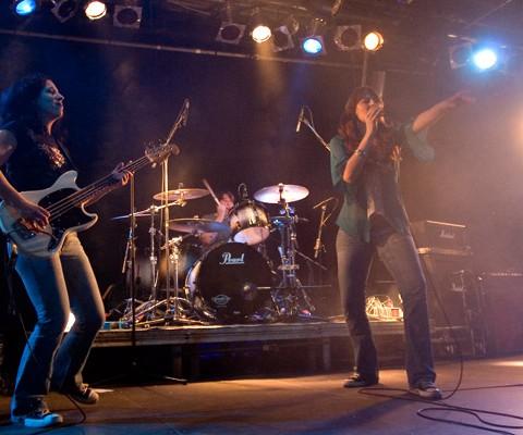 Lez Zeppelin, 05.11.2008, München, Backstage