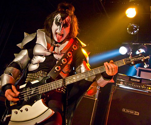 KISS Forever Band, KISS, 14.03.2009, Reichenbach/Fils, die halle