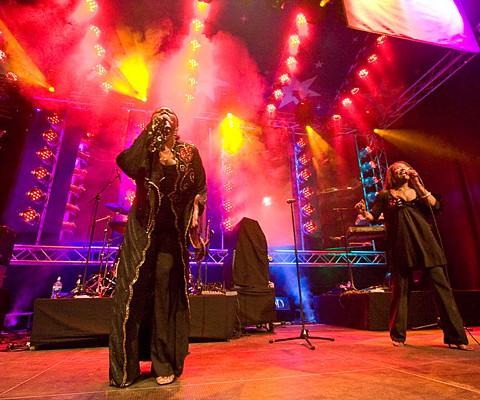Boney M. feat. Liz Mitchell, 19.06.2009, Kiel, Kieler Woche Musikzelt