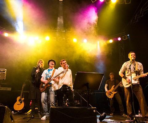 Konzertaufnahme, CoverLine, 19.06.2009, Kiel