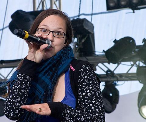 Stefanie Heinzmann, 23.06.2009, Kiel, Unser Norden-Bühne
