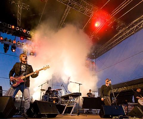 Stanfour, 23.06.2009, Kiel, Schankwerk-Bühne