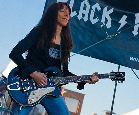 Black Rosie, 24.06.2009, Kiel, Schankwerk-Bühne