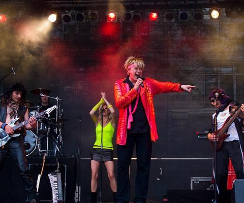 Pop Shop Boys, 28.06.2009, Kiel, Holsten-Park-Bühne