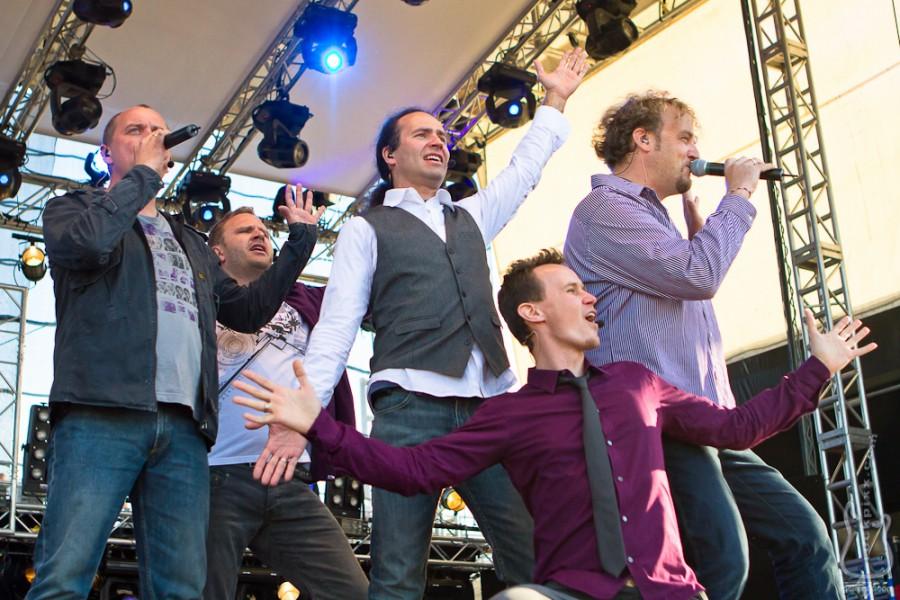 Wise Guys, 21.06.2010, Kiel, Unser Norden-Bühne