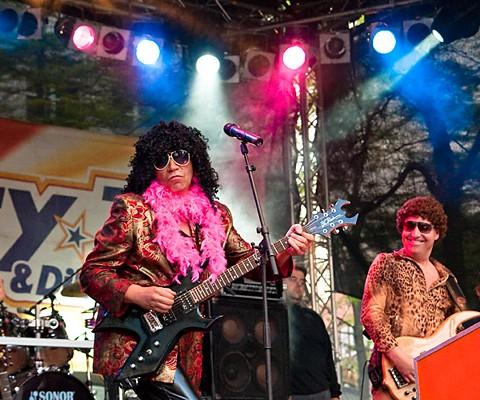 Boerney and The TriTops, 22.06.2010, Kiel, Lübzer-Park-Bühne