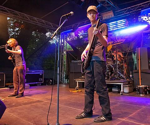 Konzertaufnahme, Graumeliert ist Zeitlos, 24.06.2010, Kiel,  Junge Bühne