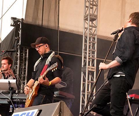 Stanfour, 25.06.2010, Kiel, Unser Norden-Bühne