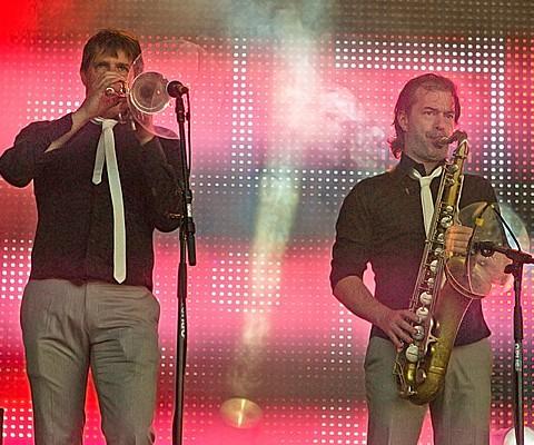 Hermes House Band, 25.06.2010, Kiel, NDR-Bühne