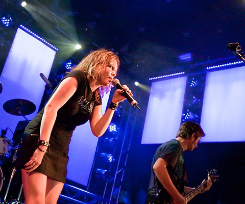 Konzertaufnahme, Lifeline, 25.06.2010, Kiel, Kieler Woche Musikzelt
