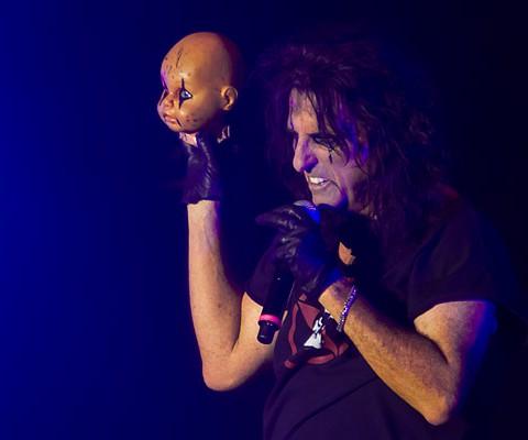 Konzertaufnahme, Alice Cooper, 05.11.2010, Kempten, bigBOX