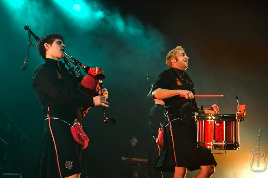 Red Hot Chilli Pipers, 07.05.2011, München, Circus Krone