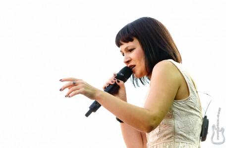 Mina Harker, 21.08.2011, Coburg, Schlossplatz