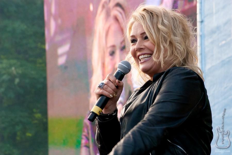 Kim Wilde, 18.06.2012, Kiel, NDR-Bühne
