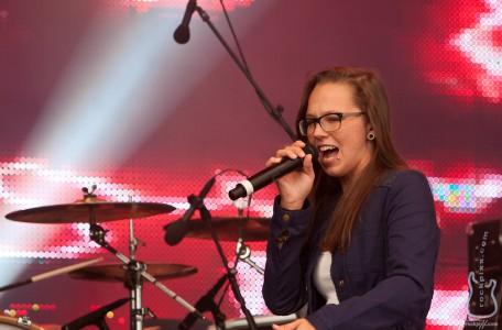 Stefanie Heinzmann, 20.06.2012, Kiel, NDR-Bühne