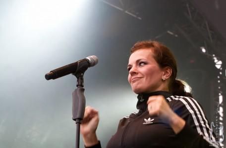 Die Happy, 24.06.2012, Kiel, hörn bühne