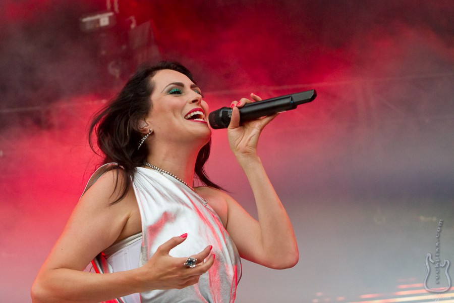Within Temptation, 22.07.2012, Nordholz, Deichbrand Festival