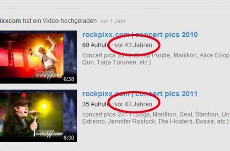 rockpixx.com auf YouTube