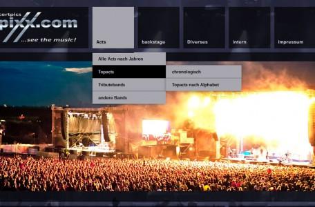 Relaunch rockpixx.com 2013