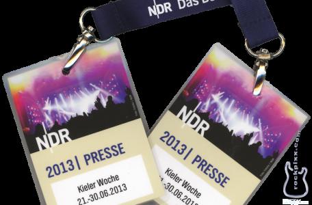 Pitpässe NDR-Bühne zur Kieler Woche 2013