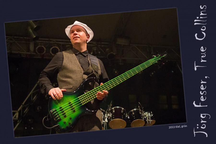 Bunte Bass-Saiten (Jörg Feser, True Collins)