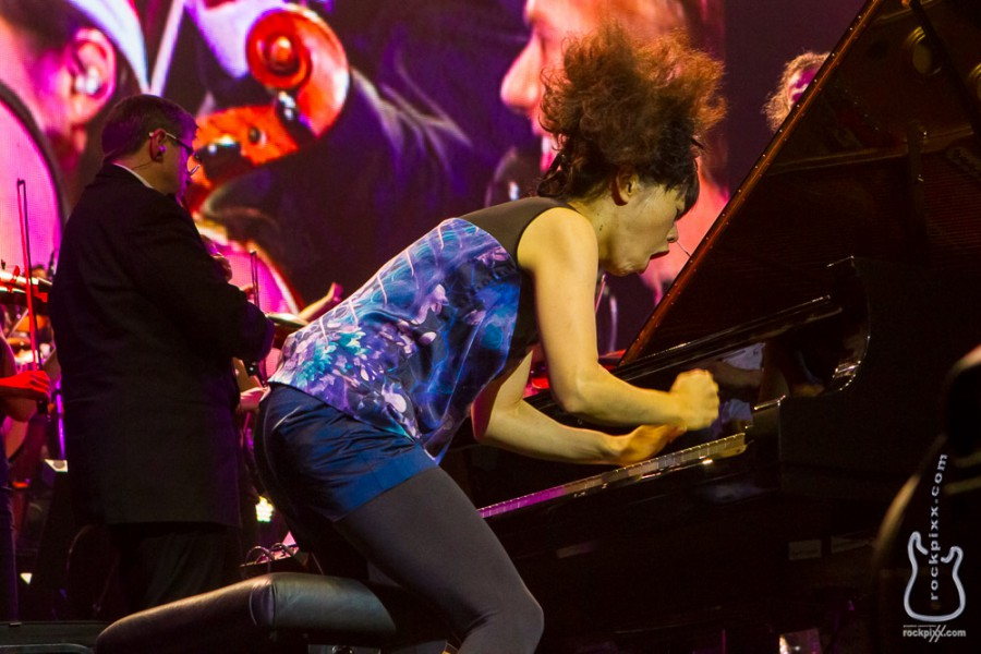 Hiromi, 20.12.2013, Hamburg, AIDA Night of the Proms 2013, O2 World