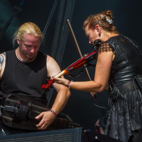 Subway to Sally, 18.07.2014, Deichbrand Open Air, Seeflughafen, Nordholz