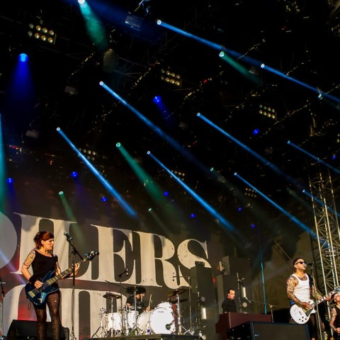 Broilers, 18.07.2014, Deichbrand Open Air, Seeflughafen, Nordholz