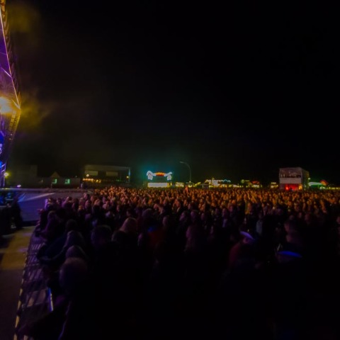 Saxon, 30.08.2014, Baltic Open Air, Schleswig