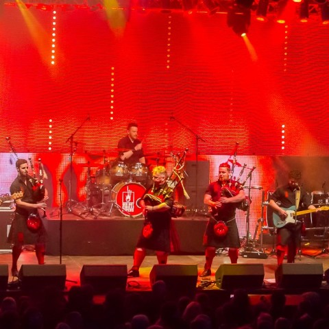 Red Hot Chillli Pipers, 20.06.2015, Kieler Woche Musikzelt, Kiel