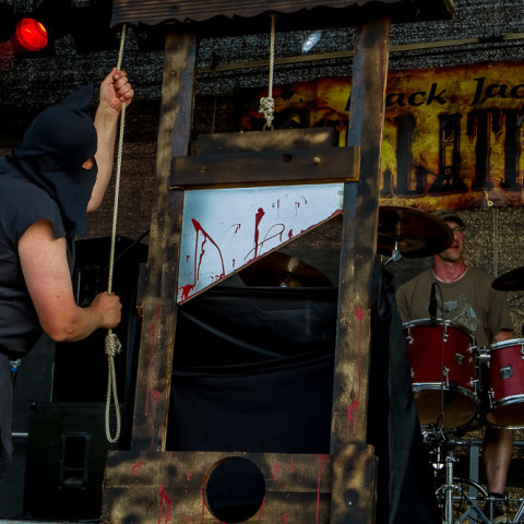 Black Jack Guillotines, 03.07.2015, Open Air Schuby