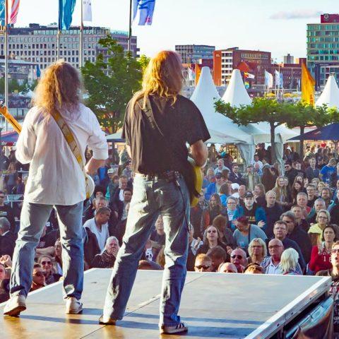 Quo, 18.06.2016, Kiel, Kieler Woche, Hörnbühne