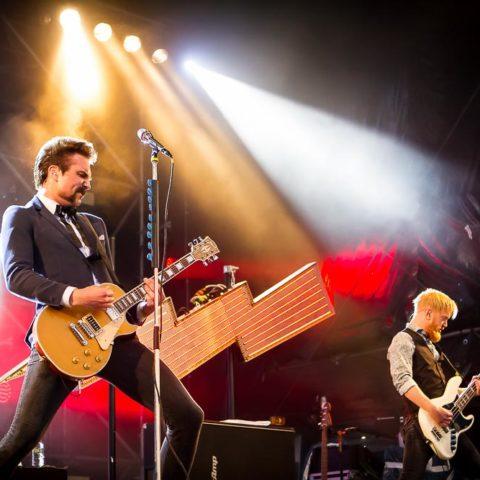 Royal Republic, 23.06.2016, Kiel, Kieler Woche, Hörn-Bühne