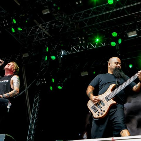 Fear Factory, 20.08.2016, Hamburg, Elb-Riot 2016