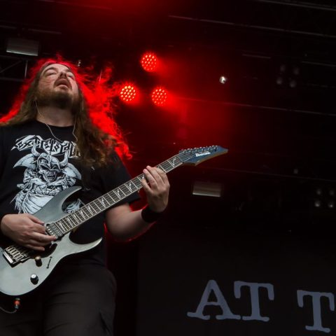At The Gates, 20.08.2016, Elb-Riot, Großmarkt, Hamburg