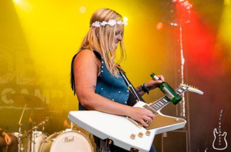 Thundermother, 21.06.2019, Kiel, Radio BOB! Rockcamp